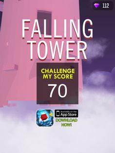 OMG #falling tower is LIT! You gotta download it hyperurl.co/fallingtower @nanovationlabs