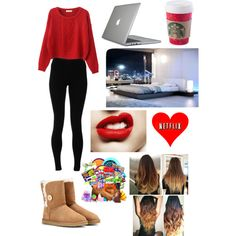 A fashion look from December 2014 featuring Chicnova Fashion sweaters, Solow leggings and UGG Australia boots. Browse and shop related looks.