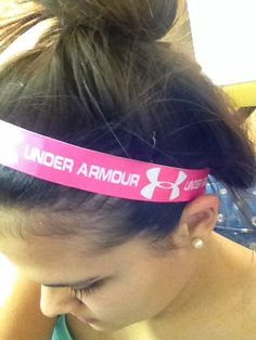 Under Armour headbands! So cute!