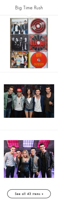 """""""Big Time Rush"""" by mixer-1d ❤ liked on Polyvore featuring big time rush, btr, btr stuffs, backgrounds, stars, celebrities and pictures"""