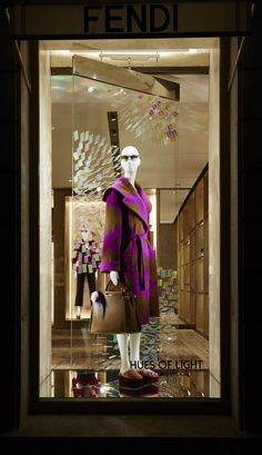 "FENDI, Paris, France, ""My work is a continual exploration of light and it never fails to suprise me"", creative by Chris Wood, pinned by Ton van der Veer"