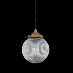 The Mullan Stanley Holophane Globe Pendant Light is manufactured in Ireland.This classic Holophane Globe Pendant fitting looks fantastic when lit.