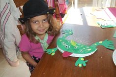 "The first in the series for ""MJ's Story Time and Craft"".As part of MJ's Homeschool this year in Kindergarten. We read stories and for some books we do an activity or craft.This week we read.""The Frog Prince (We Both Read) ,"" adapted by Si. Fairy Tale Crafts, Fairy Tale Theme, Fairy Tale Activities, Craft Activities, Art For Kids, Crafts For Kids, Arts And Crafts, Fairy Tales Unit, Frog Crafts"