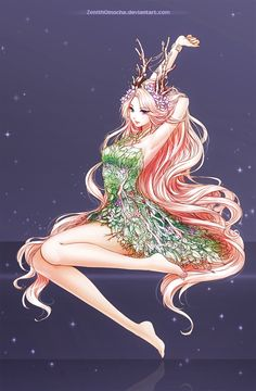 Commission: Freesia by ZenithOmocha on DeviantArt