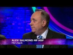 Alex Salmond with Andrew Neil  - This Week. Brexit campaign - or YES?
