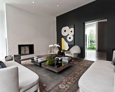 white+ black space by Allan Powell Architects