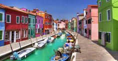 If you're in need of an emotional boost, take a virtual trip to the chipper town of Burano, Italy on this fine Travel Tuesday. The wee island is located in the same lagoon as Venice, but its colors po...