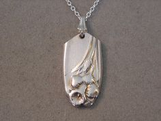 Hey, I found this really awesome Etsy listing at http://www.etsy.com/listing/153716147/spoon-jewelry-necklace-1950-daffodil