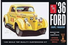 1/25 Scale Ford Plastic Model Cars / Trucks / Vehicles 1/20-1/29 Scale