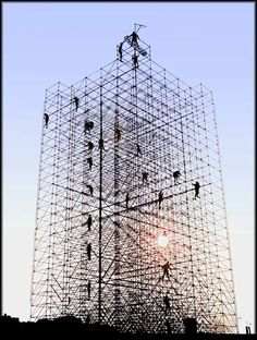 30 Scaffolding structure ideas | scaffolding, architecture, temporary  architecture
