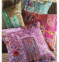 Ari Embroidered Cushion Cover - £22.00