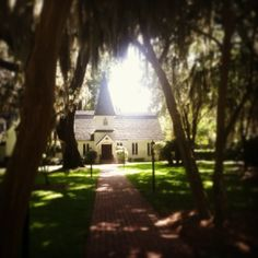 Christ Church on St. Simons Island, Georgia