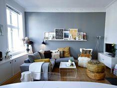 kleines wohnzimmer einrichten - ein ecksofa