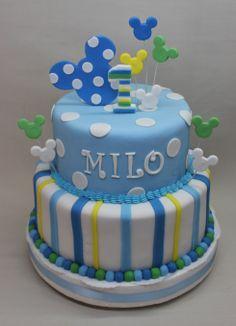 Mickey Baby Cake by Violeta Glace!