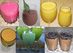 Natural Smoothie & Shake Recipes