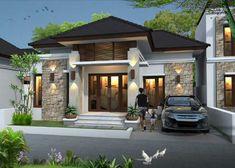 70 ideas house entrance ideas entrees - Home Decor House Front Design, Small House Design, Modern House Design, Home Design, Design Ideas, Design Design, House Entrance, Entrance Ideas, Modern Exterior