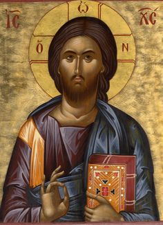 Images Of Christ, Religious Images, Religious Icons, Religious Art, Byzantine Icons, Byzantine Art, Christ Pantocrator, Greek Icons, Biblical Art
