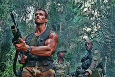 """Predator"" (Twentieth Century Fox/1987) ~ "" There's something out there waiting for us, and it ain't no man."" - Billy"