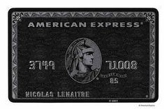 Finding accurate information about the American Express Centurion card (aka The Black Card) is not easy. Localized information is even . American Express Centurion, Credit Card Design, The Centurions, Company Work, Visa Card, Amex Card, Black Card, Just In Case, Invitations