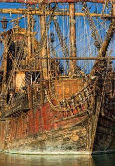 Wooden Ship.
