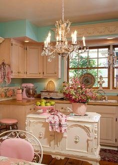 Princess kitchen... I'm in awe of the cuteness