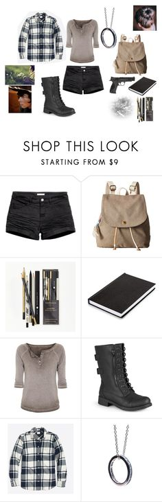 """""""FOR MY BEST FRIEND ONCE AGAIN lol"""" by surfinsunshine ❤ liked on Polyvore featuring H&M, TOMS, Katie Leamon, True Religion, Journee Collection, Puck Wanderlust and Smith & Wesson"""