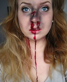 Cool victim makeup