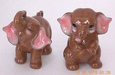 """josef originals"" in All Categories Elephants Never Forget, Elephant Figurines, Pink Elephant, Piggy Bank, Pepper, Salt, The Originals, Brown, Stuff To Buy"