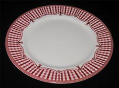 Queen's Fine China ROOSTER (Red) for Neiman Marcus Dinner Plate #QueensChina