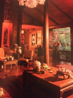 Living area, Jim Thompson's House, Bangkok