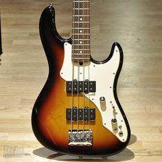 Fender Roscoe Beck Signature Bass Three Tone Sunburst 2003