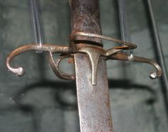William Wallace sword, hilt