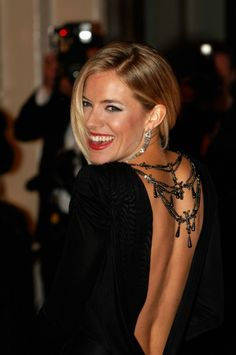Now to get a back like Sienna Miller...