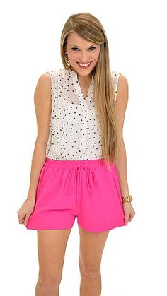 Get the look of the skirt with the comfort of shorts! $44 at shopbluedoor.com!