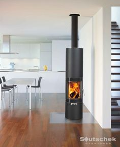 Discover all the products from Attika Home Fireplace, Modern Fireplace, Fireplaces, Fireplace Ideas, Fireplace Kitchen, Multi Fuel Stove, Loft, Log Burner, Pool Houses