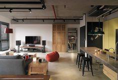 台北 35 坪 Loft 風公寓改造 - DECOmyplace