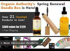 Reboot your life with Organic Authority's 2015 Spring Renewal Goodie Box, featuring over 21 innovative products from 18 different brands. http://www.organicauthority.com/reboot-with-the-spring-renewal-goodie-box/ @herbalfacefood @zinganything @Ground 2 Table @bestleafscoops @healthyhoohoo @gardenofliferaw @organicfiji @gomacro @YumEarth