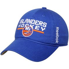 0265b19bcaf New York Islanders Reebok Youth Center Ice Slouch Adjustable Hat - Royal