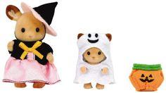 Amazon.com: Halloween set exhilarating Sylvanian Families (japan import): Toys & Games