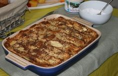 """""""Stuffed French Toast"""" will be a special breakfast treat for Easter!"""