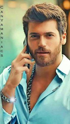 Turkish Men, Turkish Actors, Hairy Men, Bearded Men, Blond, Sexy Shirts, Eye Color, Mustache, Gorgeous Men