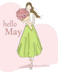 Hello May #HelloSpring #Spring #Seasonal