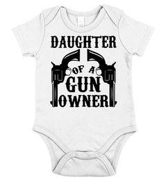Daughter Of Gun Owner  kids shirts ideas, funny t shirts for kids, kids birthday shirt #kids #kidsshirts #giftforkids #family #hoodie #ideas #image #photo #shirt #tshirt #sweatshirt #tee #gift #perfectgift #birthday #Christmas