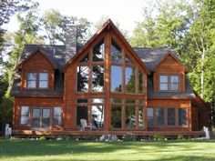 VRBO.com #495699 - Luxury Log Home on Beautiful Big Platte Lake