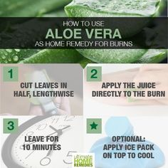 List of the best home remedies for burns and blisters caused by hot boiling water, cooking oil, and food. Treating Burns First Aid, First Aid For Burns, Home Remedies For Burns, Sore Muscles, Green Life, Teeth Whitening, Good Skin, Aloe Vera, Natural Home Remedies