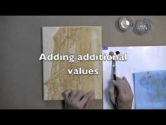 Acrylic painting technique - time lapse - online painting class - artapprenticeonline.com
