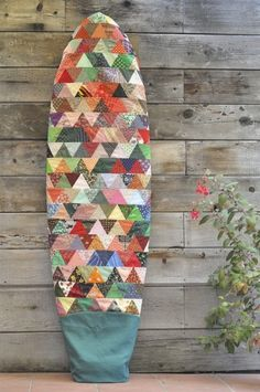 Quilted surfboard ba