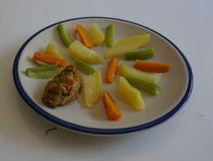 Nuggets mit Gemüse