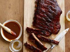 Oh yeah!!!!!!! Ribs With Kansas City Barbecue Sauce Recipe