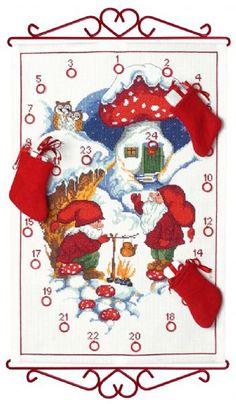 "Calendars - Permin UK ""Elf & tea"""